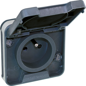 OXXO PC 2P+T GRIS SAILLIE IP55  - 60895 - EUROHM | GENMA