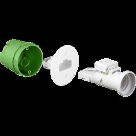 Boite applique maconnerie DCL+douille - 53131 - EUROHM | GENMA