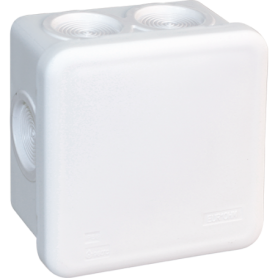 Boîte blanche IP55 80X80- 960° - 50223 - EUROHM   GENMA