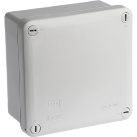 Boîte indus.IP55 105x105x55 - 50304 - EUROHM   GENMA
