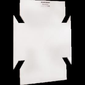 Plaque arrière  pour coffret 26 modules - 19077 - EUROHM | GENMA