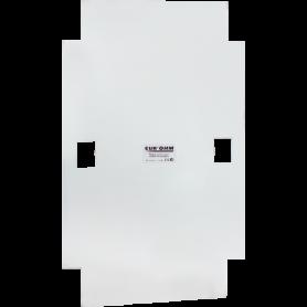Plaque arrière  pour coffret 39 modules - 19078 - EUROHM | GENMA