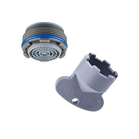 AERATEUR CACHE 16.5 AVEC CLE - AERT16.5CLE - Thewa   GENMA
