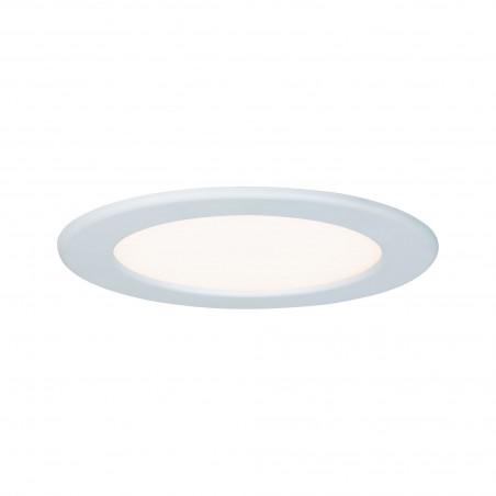 Panneau encastrable LED rond 12 W 2700 K blanc protection IP44