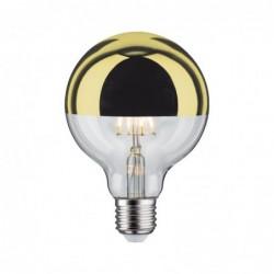 Globe LED 5W E27 cal réf Doré grad