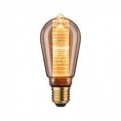 LED ST64 Ampoule int spirale 200lm E27 Doré