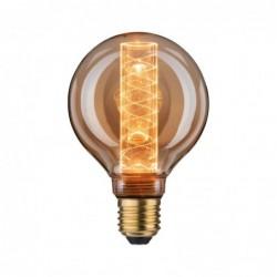 LED G95 Ampoule int spirale 200lm E27 Doré