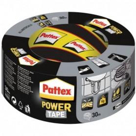 PATTEX Adhésif Réparation Power Tape Gris Etui 30m  1669220 | GENMA