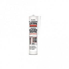 RUBSON Mastic Silicone Neutre Bâtiment Blanc Cart 280ml 1714258 | GENMA