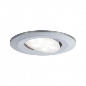 Encastré LED Calla rond 1x6W Chrome mat orientable