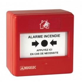 DÉCLENCHEUR MANUEL SAILLIE ROUGE MDS3000 - EATON NUGELEC - NUG30316 | GENMA