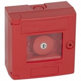 Coffret bris de glace coup de poing IP44 rouge - montage en saillie - LEGRAND - 38003 | GENMA