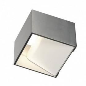 LOGS IN, applique, alu/blanc, LED 12W 2000K-3000K Dim to Warm