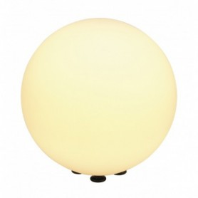ROTOBALL FLOOR 40 luminaire extérieur, blanc, E27, max. 24W, IP44