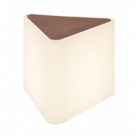 KENGA, luminaire extérieur, blanc, triangulaire, E27 24W max., IP54
