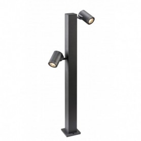 HELIA double, borne, anthracite, LED 16W 3000K, IP55