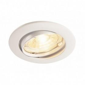 PIKA, encastré, orientable, blanc, QPAR51 max. 50W