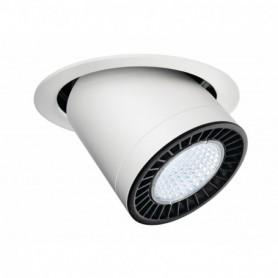 SUPROS MOVE, encastré plafond rond, blanc, 2600lm, 4000K, LED 28W, 60°
