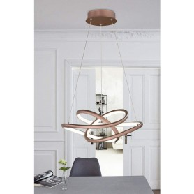 Galaxy Suspension 1-x LED 33W Cappuccino