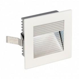 FRAME CURVE LED encastré, carré, blanc mat, LED 4000K