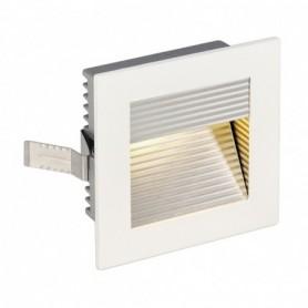FRAME CURVE LED encastré, carré, blanc mat, LED 3000K