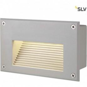 BRICK DOWNUNDER LED, encastré, rectangulaire, gris argent, LED 3000K