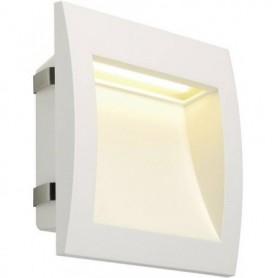 DOWNUNDER OUT LED L, encastré mural blanc, LED 0.96W 3000K