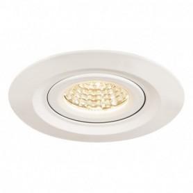 KINI LED, encastré de plafond extérieur, blanc, LED 12W 3000K, 60°, IP65