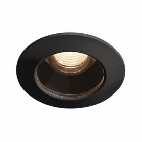 VARU encastré, noir, LED 5W 2700K, IP65