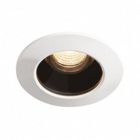 VARU encastré, noir/blanc, LED 5W 2700K, IP65