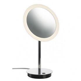 MAGANDA, miroir à poser chrome, LED 4,2W, 3000K, 70lm