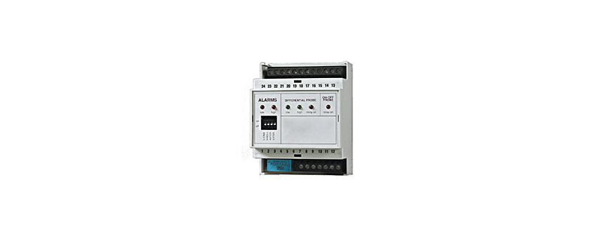 Régulateurs de niveau électroniques avec sondes