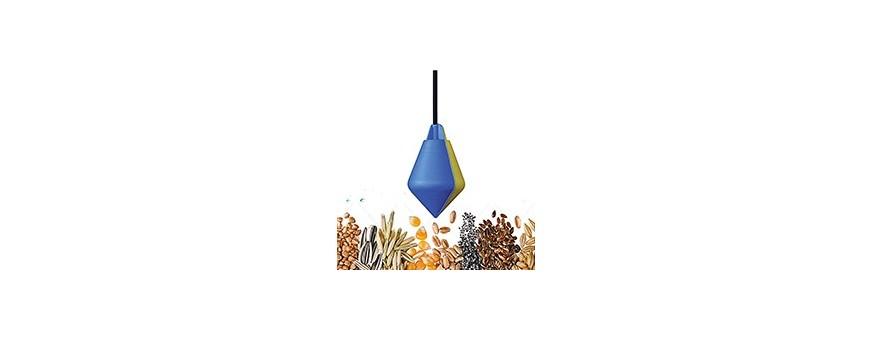 Détecteurs de niveau pour silos à grains et pulvérulents