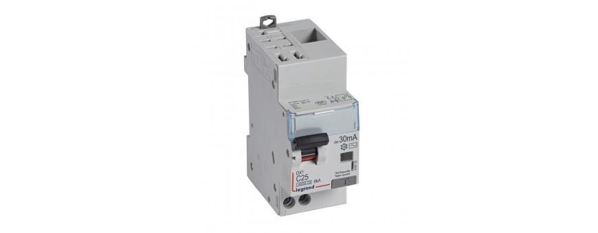 Disjoncteur différentiels 6kA protection de départs