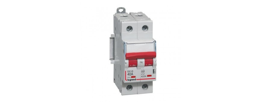 Interrupteurs-sectionneurs DX3-IS | Legrand | GENMA
